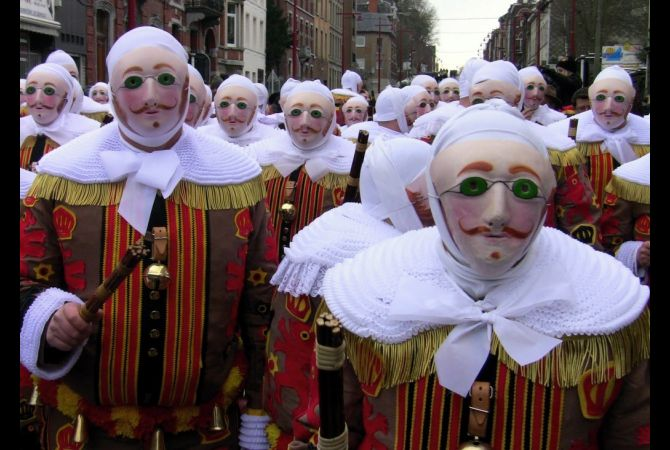 Carnival of Binche : The world's Weirdest Festival