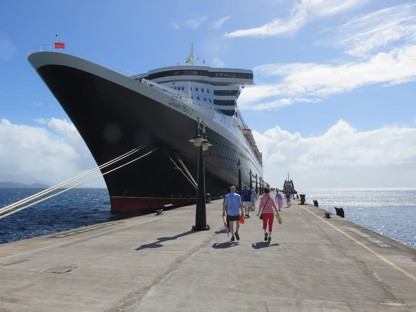 Queen Mary 2 Voyage, December 2015